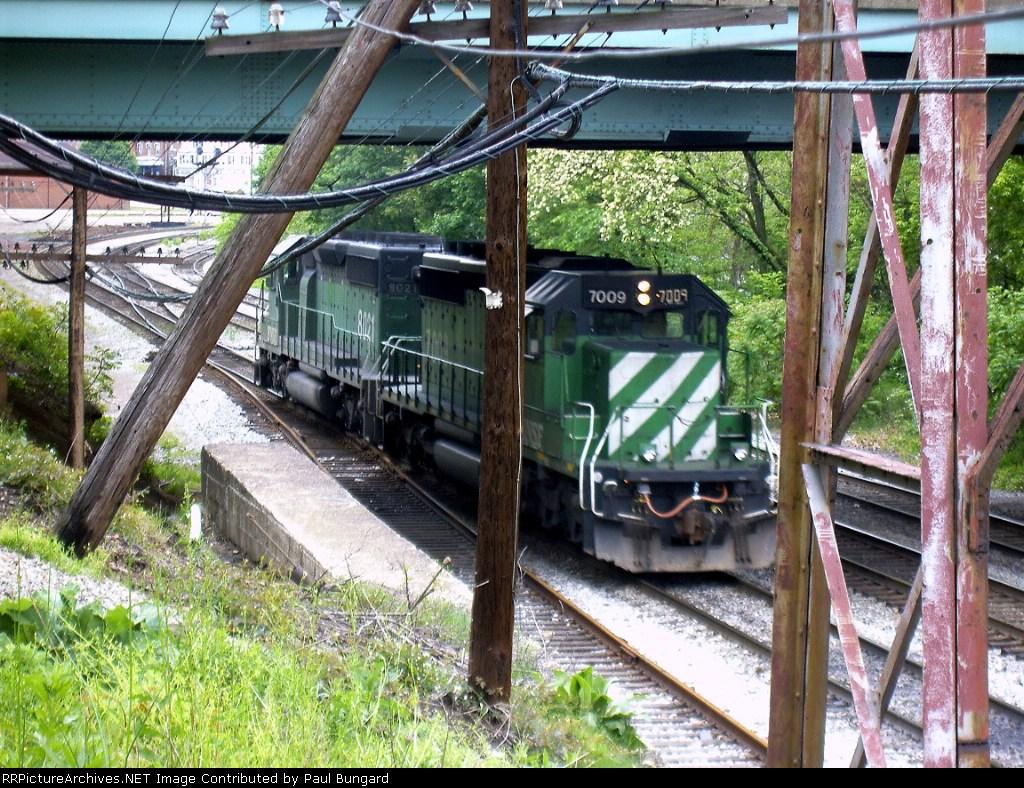 BNSF 7009