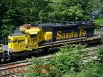 BNSF 6757   Ex-ATSF 5098    SD40-2    06/14/2006