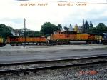 BNSF 4093  C44-9W    BNSF 4613  C44-9W   07/28/2006