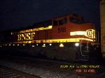 BNSF 518  (ex-ATSF)   B40-8W    08/19/2006