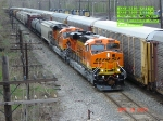 BNSF 7510  ES44DC   BNSF 7509  ES44DC  Brand New Units  April 30, 2007