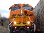 BNSF 7510  ES44DC  Brand New Unit  April 30, 2007