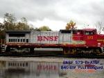 BNSF 573   Ex-ATSF   B40-8W    10/28/2006