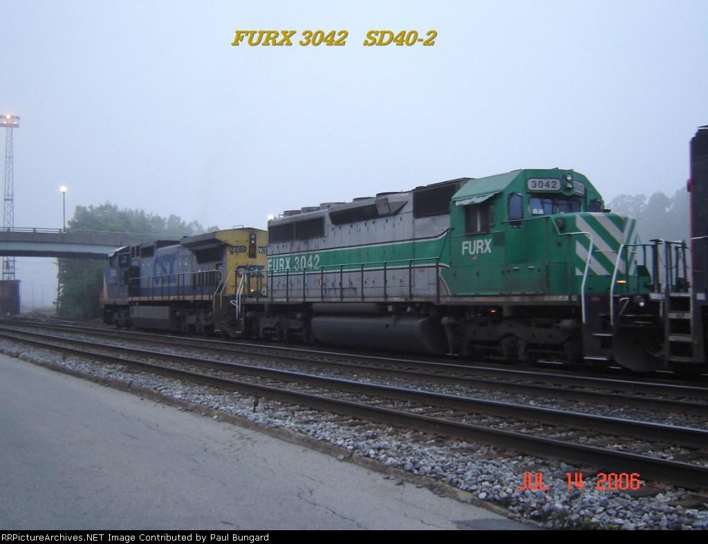 FURX 3042   SD40-2   07/14/2006