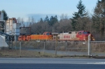 BNSF 5133 & BNSF 742