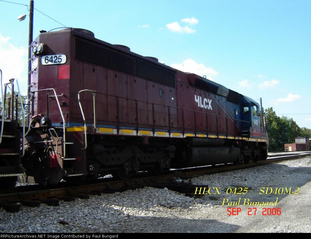 HLCX 6425        SD40M-2       09/27/2006