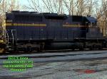 HLCX 9001      SD40M-2       02/15/2006
