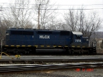 HLCX 7178  Ex- BN   SD40-2  Jan 12, 2007