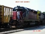 HLCX 6505  SD70M-3 07/16/2006