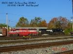 HLCX 6407       Ex-Trona Rwy       SD40-2       NS 9102  C40-9W       10/21/2006