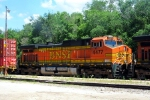 Here's a closeup of BNSF C44-9W 4477.