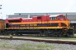 KCS 4129 leading a NB freight into CSX Sibert yard