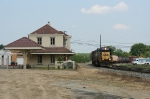 Transfer from Bayline to CSX backing up past the depot