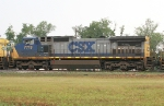 CSX 7713 on SB freight