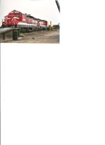 Columbia Basin Railway SD-9 #166 waits for service at Warden, Wash.