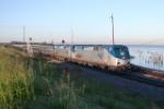 Amtrak NB Crescent on NS tracks