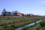 NS NB freight
