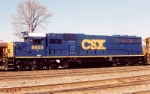 CSX 8503 The 1st YN3 painted unit