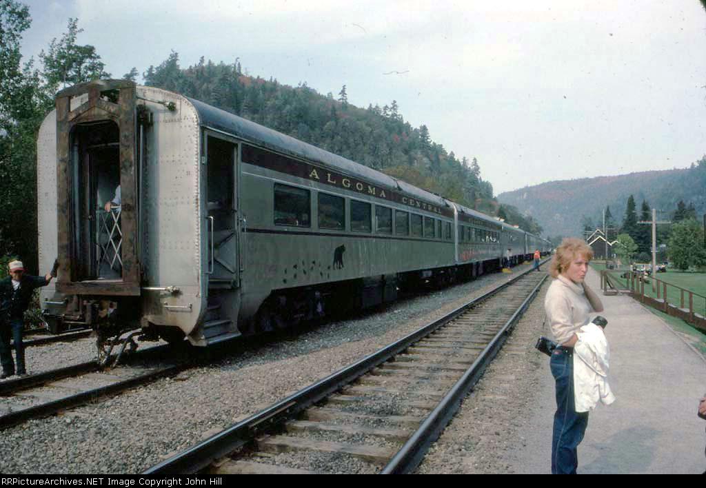 1316-09 Southbound Algoma Central Train Ride