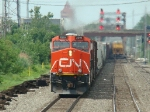 Brand New CN gevo with train 456 @ Lemoyne Int on the BRC