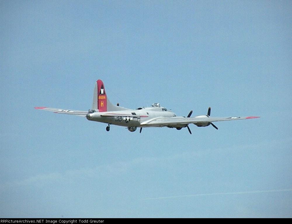 """B-17 """"Aluminum Overcast"""""""