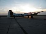 "B-17 ""Aluminum Overcast"" Sunset"
