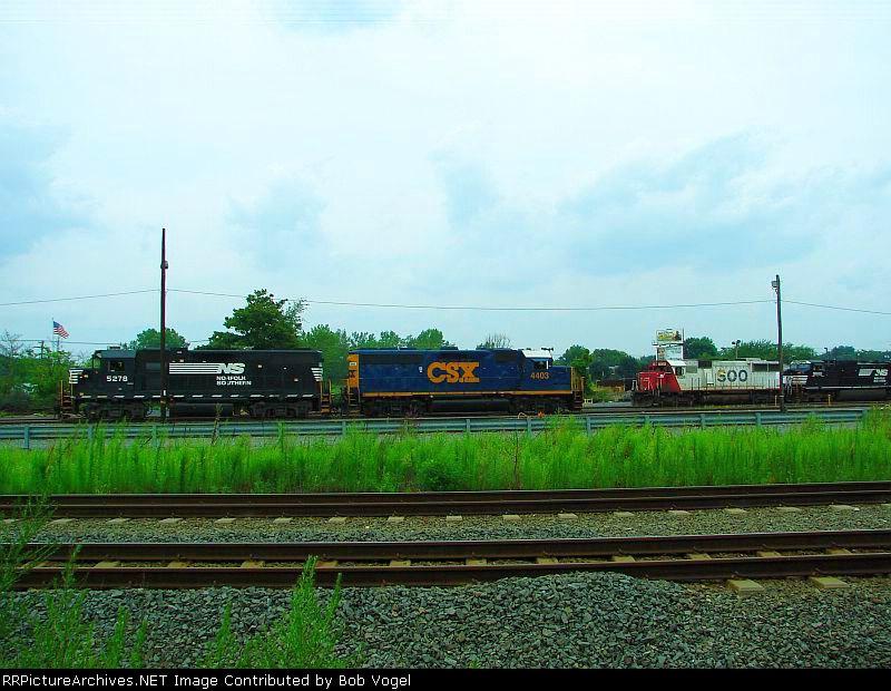 NS 5278, CSX 4403, SOO 6029