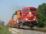 CP 8817 cruises along with X500-30