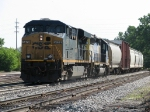 CSX 5479 & 8145 head towards 4 Track with Q335-01