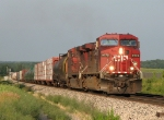 CP 9775 & 9553 working west with X741-06