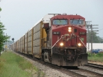 With a D802 crew aboard, CP 9517 leads X500-05 towards the yard