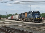 HLCX 7175 & CSX 4741 roll out the Coach Lead with Q326-08