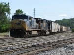 CSX 7784 & 8727 lead Q335-13 into the yard via the Coach Lead