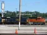 CSX 1238 & BNSF 9272