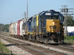 D700-14 returns to Wyoming Yard with 8 cars