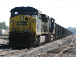 CSX 534 & 587 sitting on 2 Track with N922-09
