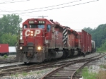 CP 5916 leads X741-18 into Plaster Creek