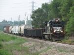 NS 3561 starts southward with the new Grand Rapids-Kalamazoo turn, B48,