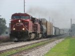 CP 8517 & 9643 pull hard westbound with X741-20