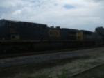 CSX locos