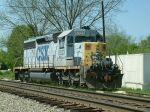 CSX 8023 is local power
