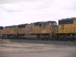 UP 4807 #3 power in an EB manifest at 1:21pm
