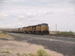 UP 7288 leads an EB grain train at 12:56pm