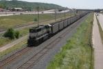 DPU on BNSF coal loads