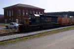 Northbound work train