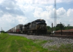 NS 7529 Eastbound passes through Wentzville.