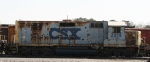 CSX 2214 sits in the yard