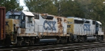 CSX 2214 heads out of Florence Yard
