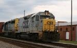 CSX 2223 leads a northbound train