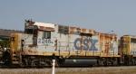 CSX 2246 arrives on train F017